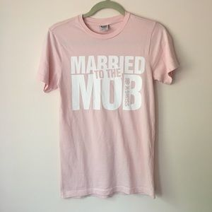 Married to the Mob K Swiss tee
